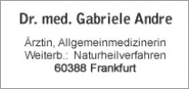 Dr Gabriele Andre